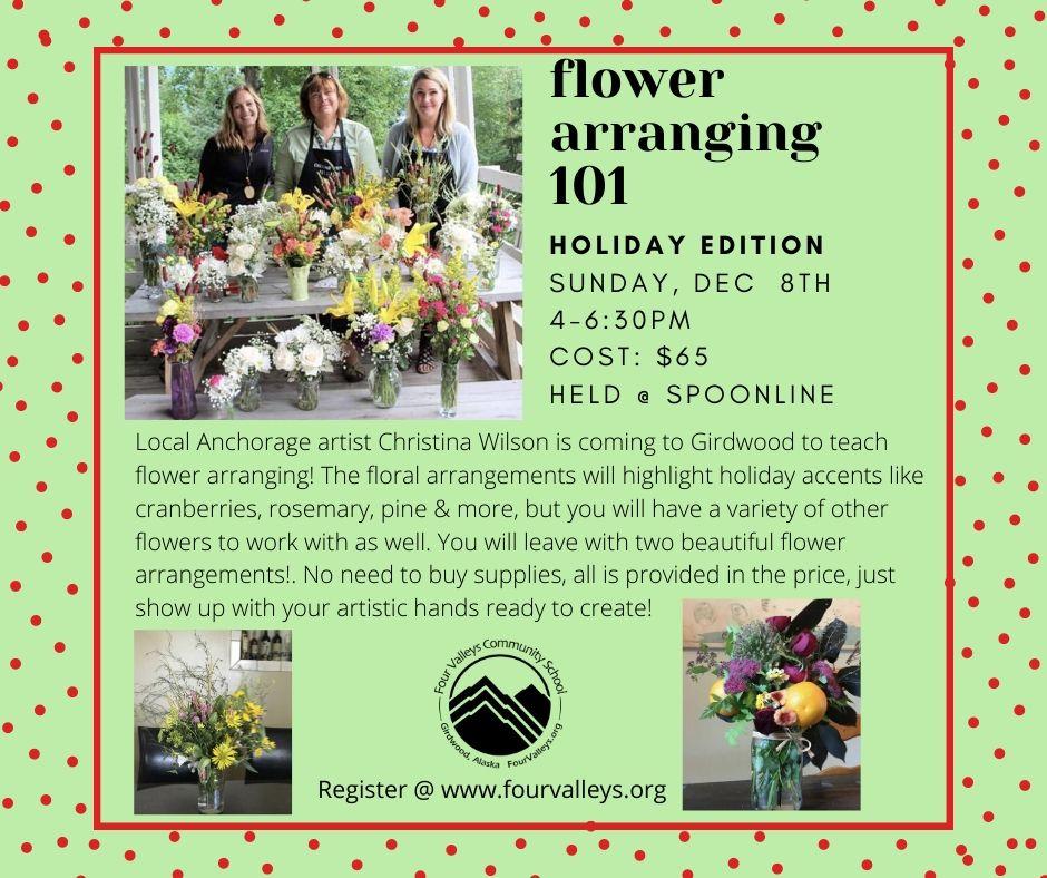 Art Night At Spoonline Flower Arranging 101 Four Valleys Community School,Modern Kitchen Countertops